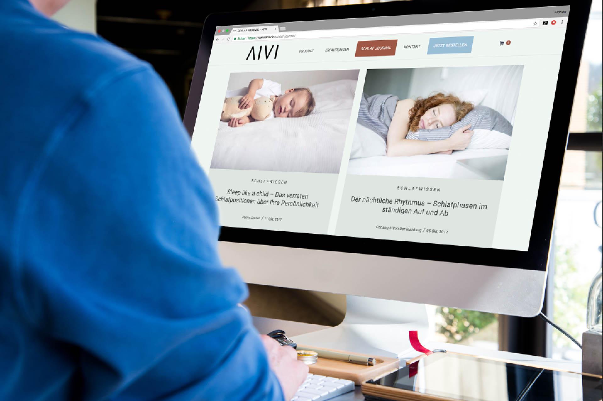 Content Guys Referenzen: AIVI.de